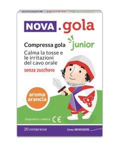 Nova Gola Junior Arancia 20 Compresse Senza Zucchero