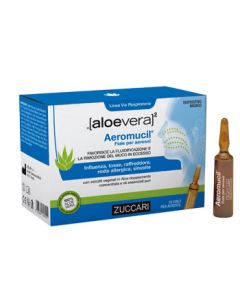Aloevera2 Aeromucil 10 Fiale 5 ml