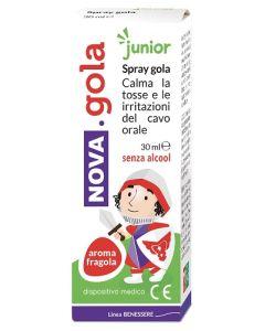 Nova Gola Spray Junior Fragola 30 ml