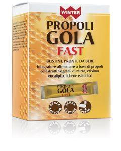 Winter Propoli Gola Fast 15 Bustine