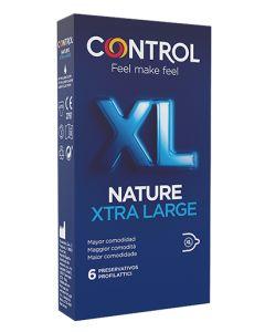 Profilattico Control New Nature 2,0 xl 6 Pezzi