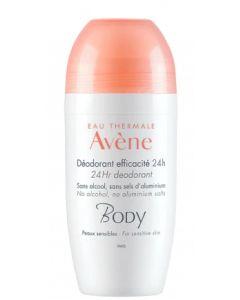 Avene Eta Body Deodorante 24h 50 ml Roll on