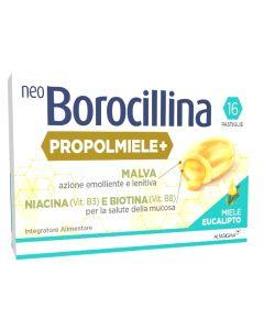 Neoborocillina Propolmiele+ Miele/eucalipto 16 Pastiglie