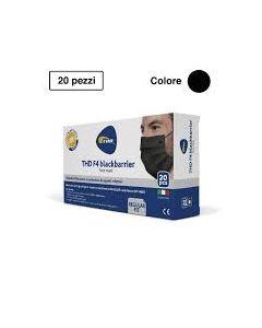 Mascherina Chirurgica Thd Mask f4 Blackbarrier Multi Regular20 Pezzi