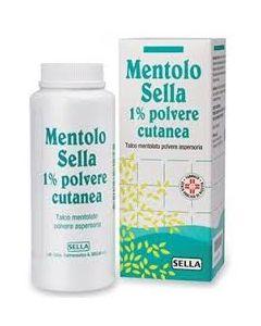 Mentolo (sella)*polv Cutanea 100 g 1%