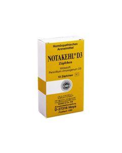 Notakehl d3 10 Supposte 2g Sanum