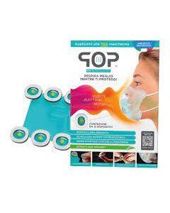 Pop Technical Device 12 Dispositivi Adesivi Profuma e Purifica Mascherina
