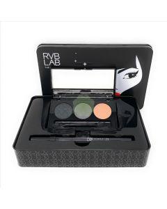 Kit Natale Look Elegant Smokey Eyes Palette 3 x 1,6 g + Matita Occhi Waterproof 71 1,2 g