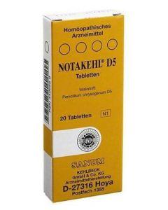 Sanum Notakehl d5 20 Compresse