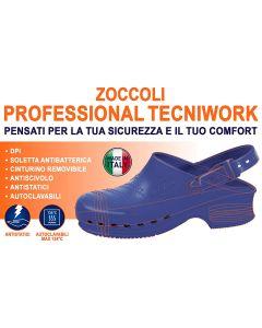 Zoccoli Tecniwork Professional Blu 41/42