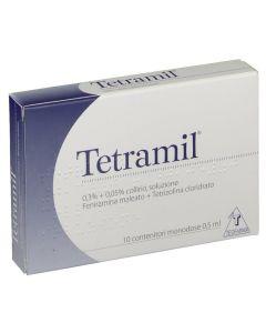 Tetramil*10 Monod Collirio 0,5 ml 0,3% + 0,05%