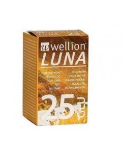 Wellion Luna 25 Strips Strisce per Misurazione Glicemia