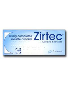 Zirtec*7 Cpr Riv Div 10 mg